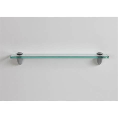glass shelf lewis hyman 18 in w x 3 25 in d x 2 6 in h clear glass