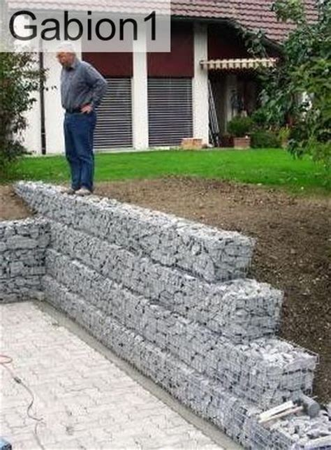 25 best ideas about gabion retaining wall on