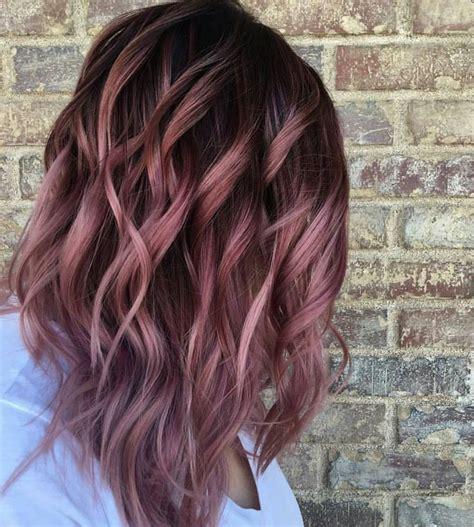 Colored Hair Ideas by Best 25 Hair Color 2017 Ideas On Fall Hair