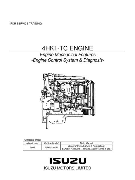 npr manual  diagrama motor isuzu hktrainingpdf