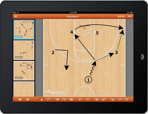 fastmodel sports launches basketball playbook app coaches