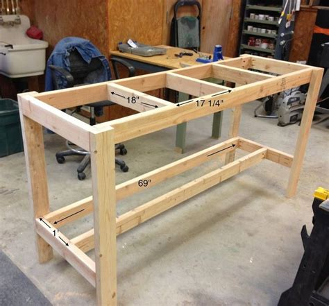 25+ Best Ideas About Workbench Plans On Pinterest