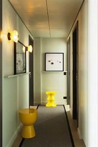 amenagement couloir marie claire maison With tapis couloir avec canapé la maison du convertible