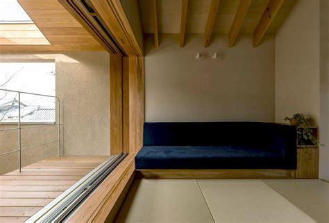 japan micro house  small zen garden interiorzine