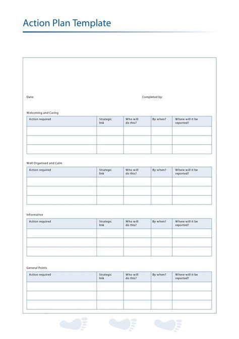 action plan template 45 free plan templates corrective emergency business