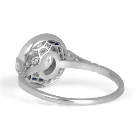 vintage wedding ring perth 1 64ct perth engagement ring estate jewelry