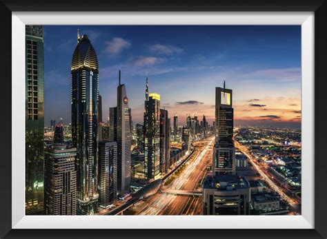 dubai sheikh zayed road martijnkort photography