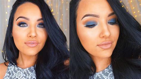 Blue Gray Smokey Eye Ft Melt Eyeshadows + New Hair ♡