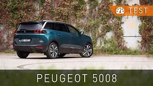 Peugeot 5008 1 6 Bluehdi 120 Km Allure  2017   U2013 Test  Pl