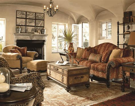 Colonial Style Living Room Furniture