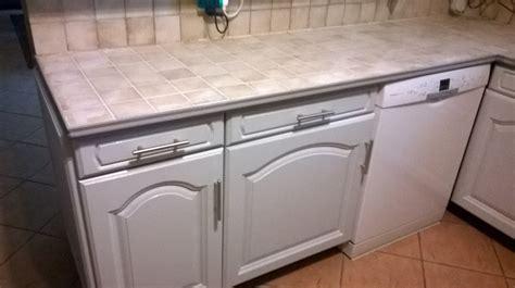 peinture carrelage cuisine plan de travail renover ma maison peinture et bricolage en