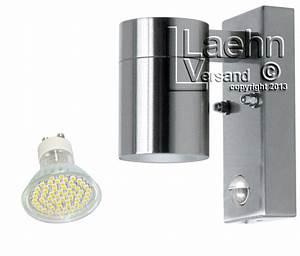 Led Lichtleiste Bewegungsmelder 230v : led edelstahl aussenleuchte aussenlampe mit bewegungsmelder nur 3 watt ~ Markanthonyermac.com Haus und Dekorationen