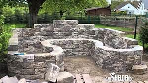 Hochbeet Selber Bauen Stein : steinmauern im garten selber bauen haus design ideen ~ A.2002-acura-tl-radio.info Haus und Dekorationen