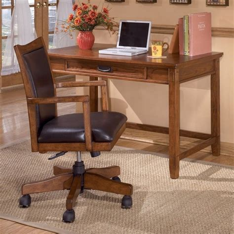 ashley furniture computer desk ashley furniture cross island computer desk in medium