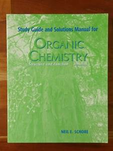 Study Guide  U0026 Solutions Manual For Organic Chemistry