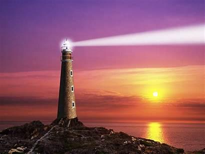 Lighthouse Beacon Clip Lighthouses Clipart Ocean Lighting