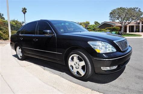 how to sell used cars 2005 lexus ls electronic toll collection buy used 2005 lexus ls430 ultra luxury edition in clifton colorado united states