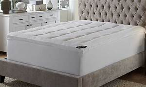 behrens england high loft 3quot fiberbed mattress topper With best deals on mattress toppers