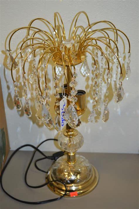 vintage decorative chandelier table l