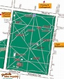 Map of Fitzroy Gardens, Victoria, Australia in Festivale's ...