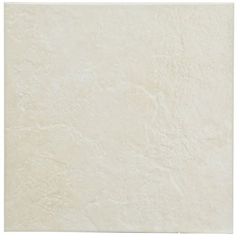 Cara White & Silver Ceramic Border Tile, (L)200mm (W)50mm