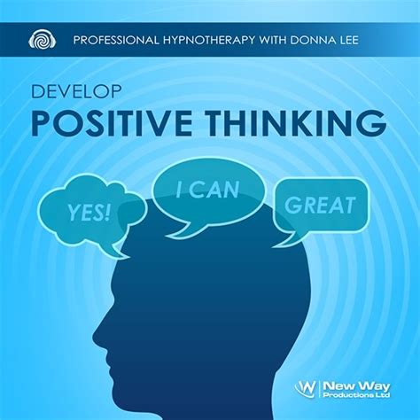 develop positive thinking hypnosis cd mp