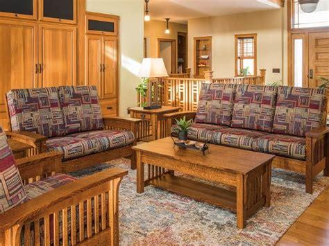 toledo mission living room set countryside amish furniture