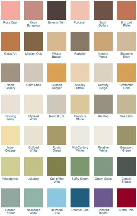 matthews paint color palette matthews paint color chart foto 2017