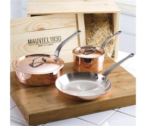 pin  culinary equipment company  mauviel copper cookware copper cookware set copper