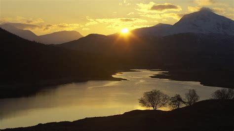 HD Sunset Garry Western Scotland Highlands Gallery ...
