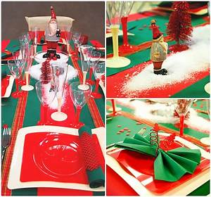 Table De Noel Traditionnelle : d coration de noel notre s lection de tables ~ Melissatoandfro.com Idées de Décoration