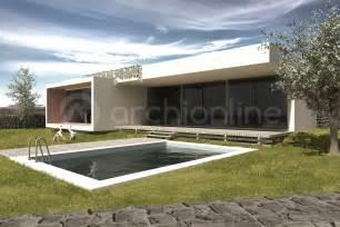 plan de maison de plain pied avec 3 chambres maison johnson plan de maison moderne par archionline