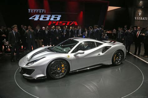 This extreme evolution of the v8 turbo ferrari, has won the 'international engine of the year' award for three consecutive years (2016, 2017 and 2018) and was named 'best of the best', that is, the best engine of the last 20 years. Ferrari 488 Pista at Geneva - Drive Safe and Fast