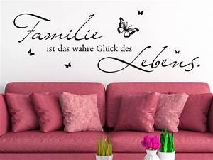Wandatttoo Familie Ist Das Glck Des Lebens KLEBEHELD