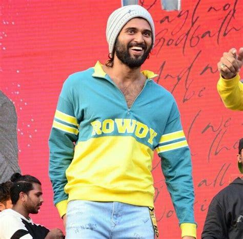 Vijay deverakonda on his outfit for katy perry's party. Pin by JahnaVvvvvv on Rowdy | Actor photo, Vijay ...