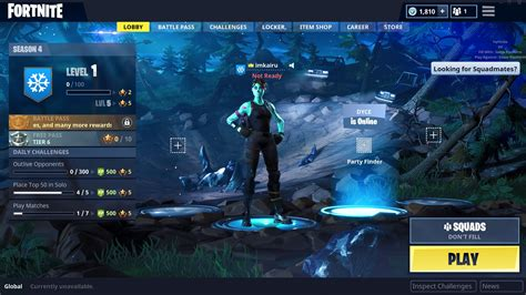 fortnite news fnbrnews  twitter  lobby screen