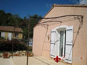 Pergola Murale Alu : pergola en fer forge toulon avec querre murale ~ Edinachiropracticcenter.com Idées de Décoration