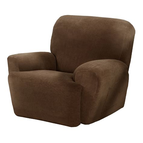 slipcovers for recliners collin stretch recliner slipcover 4 maytex ebay