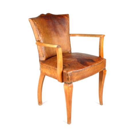 fauteuils bridge fauteuil d 233 co en bois et en cuir type bridge