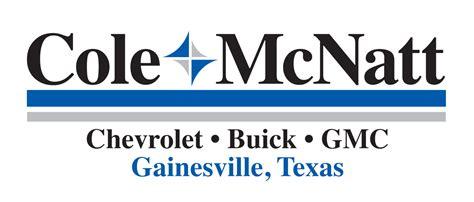 cole mcnatt chevy buick gmc gainesville tx read