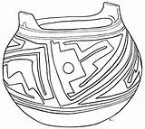 Pottery Clay Coloring Pages Sketch Casas Template sketch template