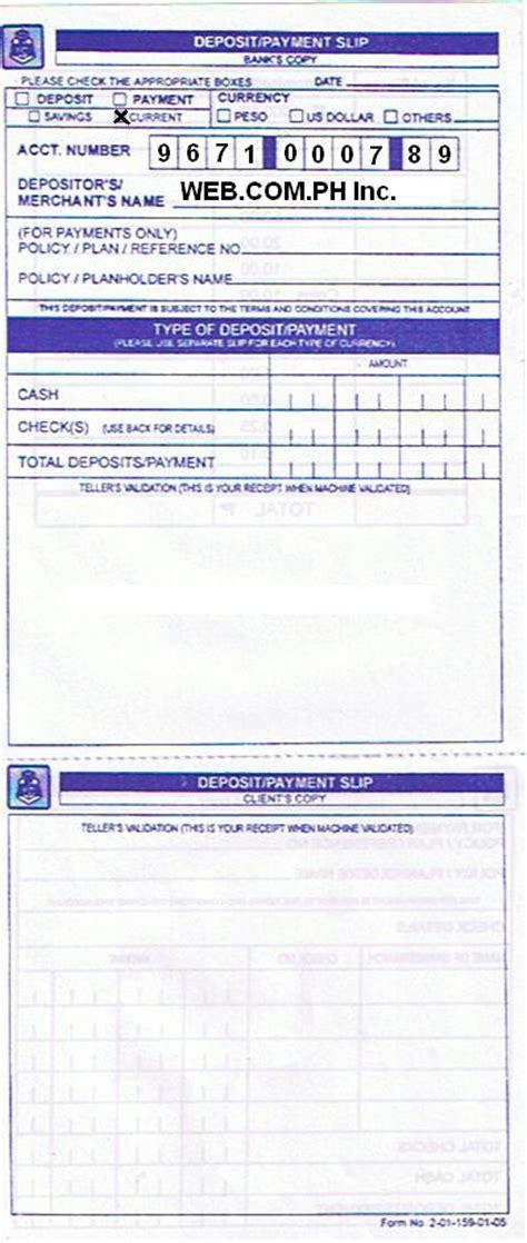 blank deposit slip bank of america blank deposit slip autos post