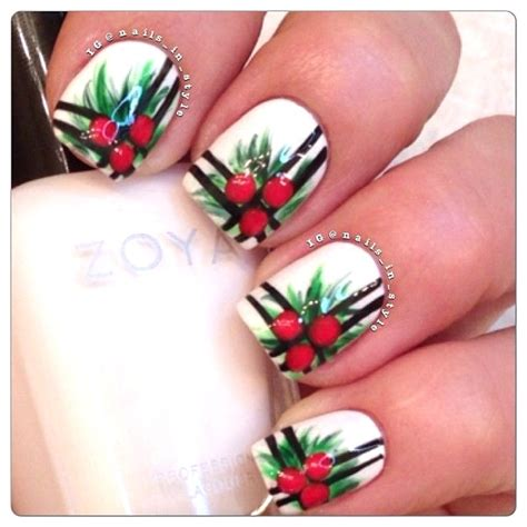christmas nail art designs pink lover