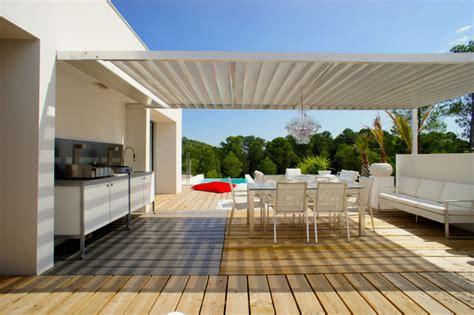 d 233 coration d une villa sur les parcs des vautes nord de montpellier contemporain terrasse