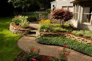 Landscaping with Mulch and Stone Ideas