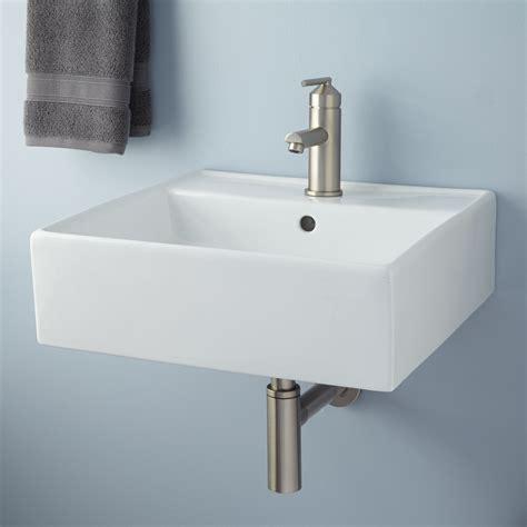 wall hung bathroom sink audrie wall mount bathroom sink bathroom