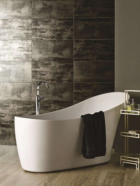 Metallic Bathroom Tiles by 37 Best Ideas About Metallic Tiled Looks On