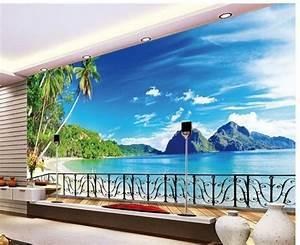 40 einmalige fototapete strand immer ist es sommer With markise balkon mit 3d tapete wohnzimmer