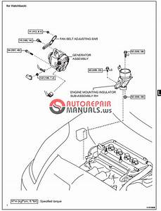 Free Download  Toyota Yaric Repair Manuals  Lubrication System