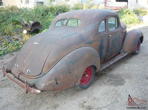 Project For Sale by 1938 Hudson Terraplane 2 Passenger Business Coupe Project